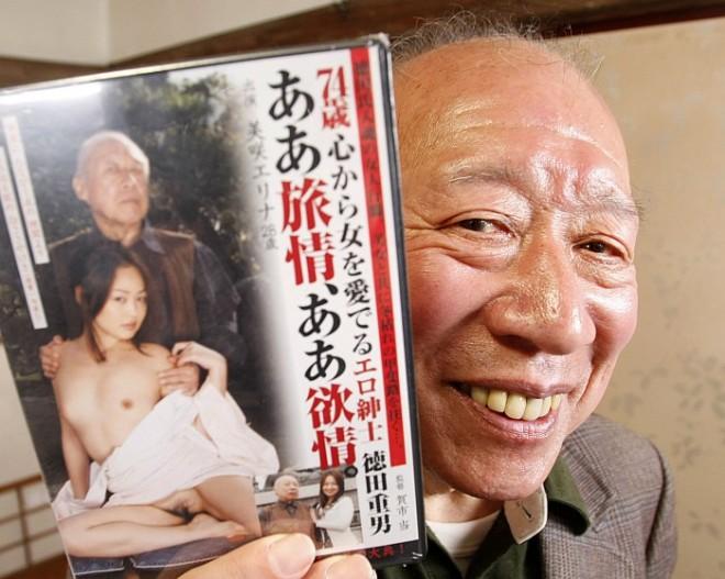 Shigeo Tokuda - Actor porno abuelo gerontofilia